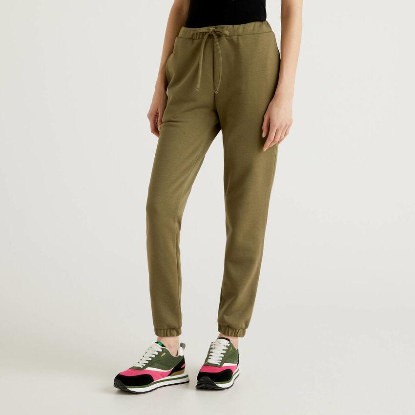 Army green sweatpants