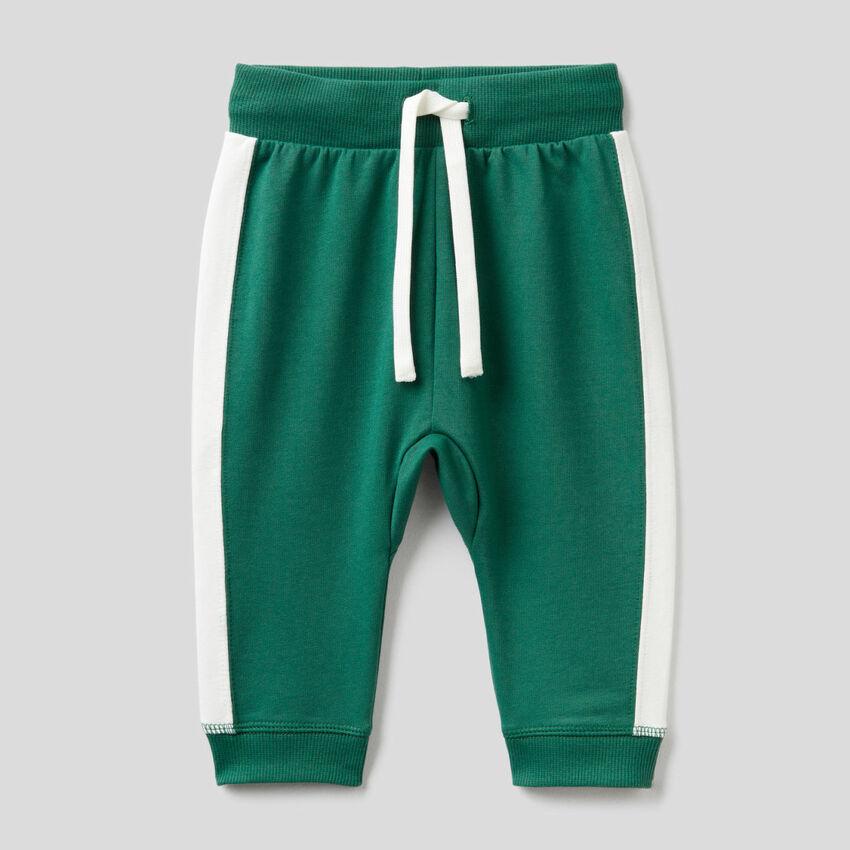 Stretch organic cotton sweatpants