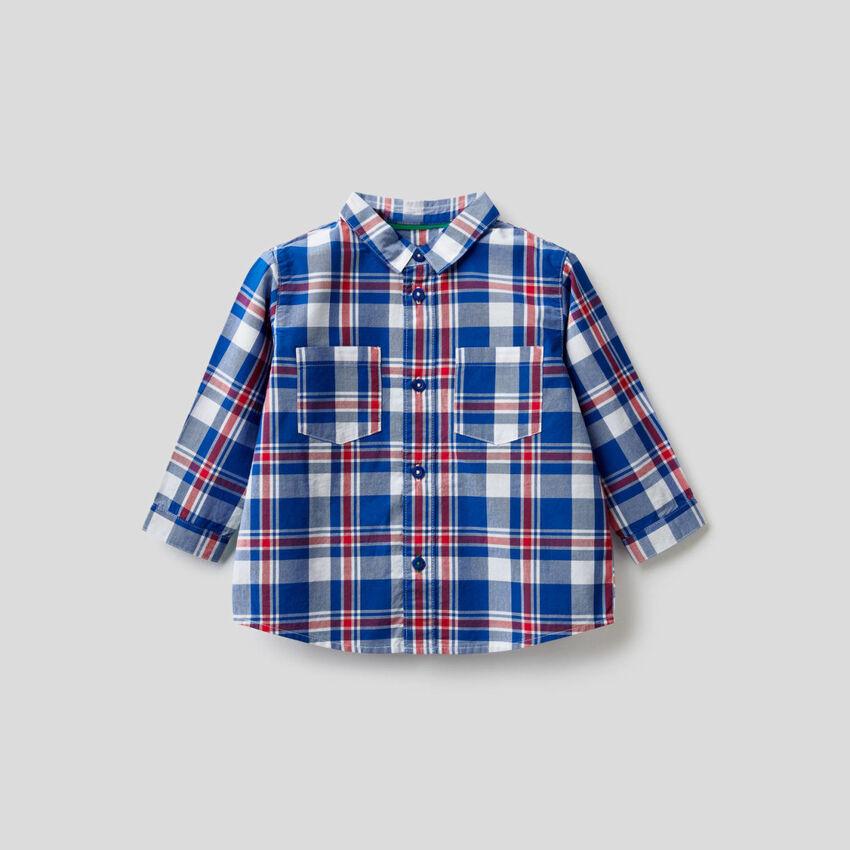 100% cotton check shirt