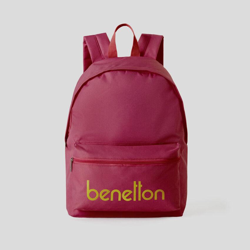 Customizable rucksack with logo print