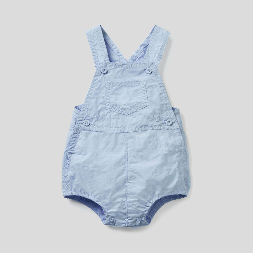 Overall onesie in 100% cotton