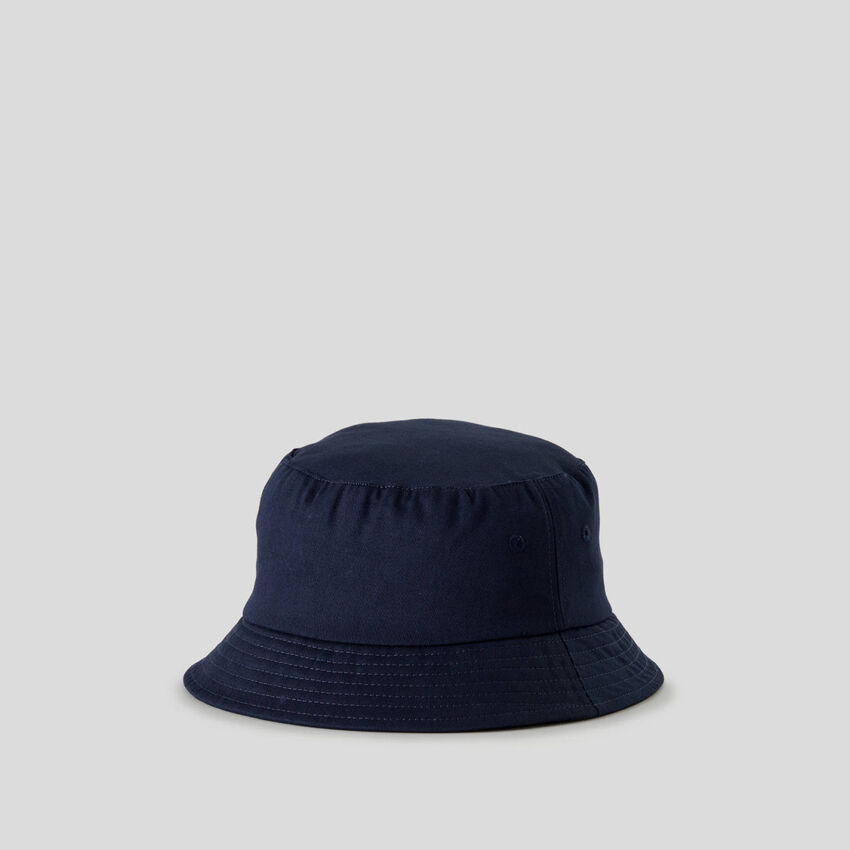 Fisherman's hat in pure cotton