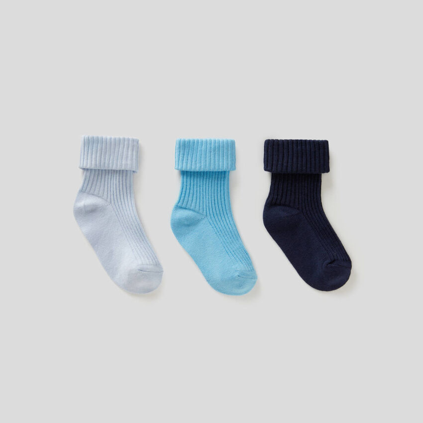 Socks set with curl
