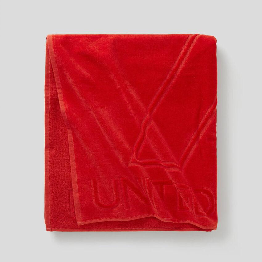 Logoed beach towel