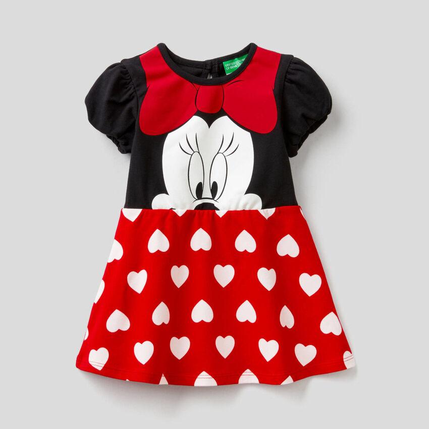 Minnie dress in stretch cotton