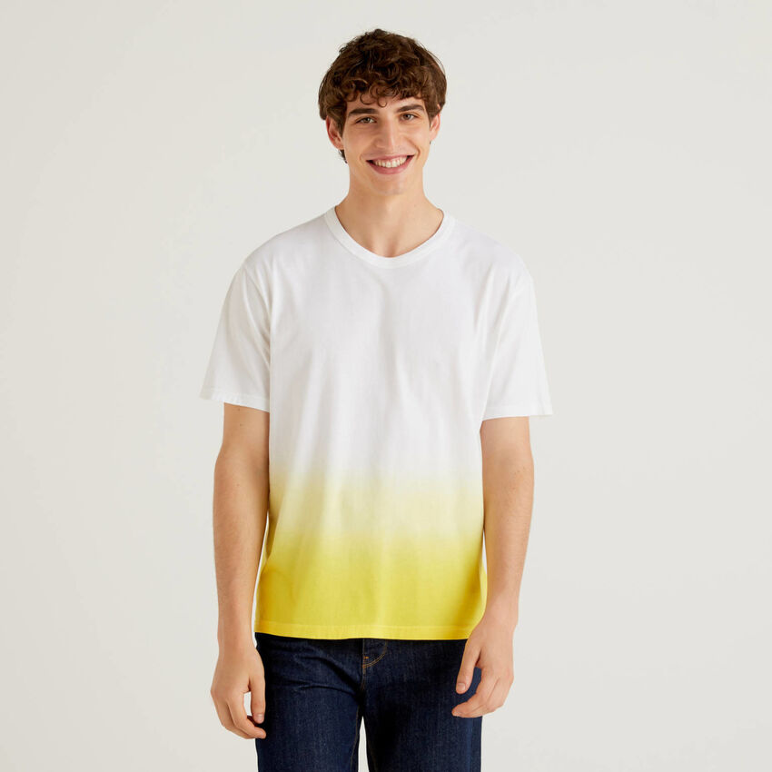 100% cotton faded look t-shirt