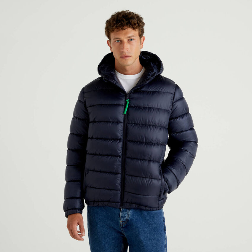 Padded jacket with 3D wadding