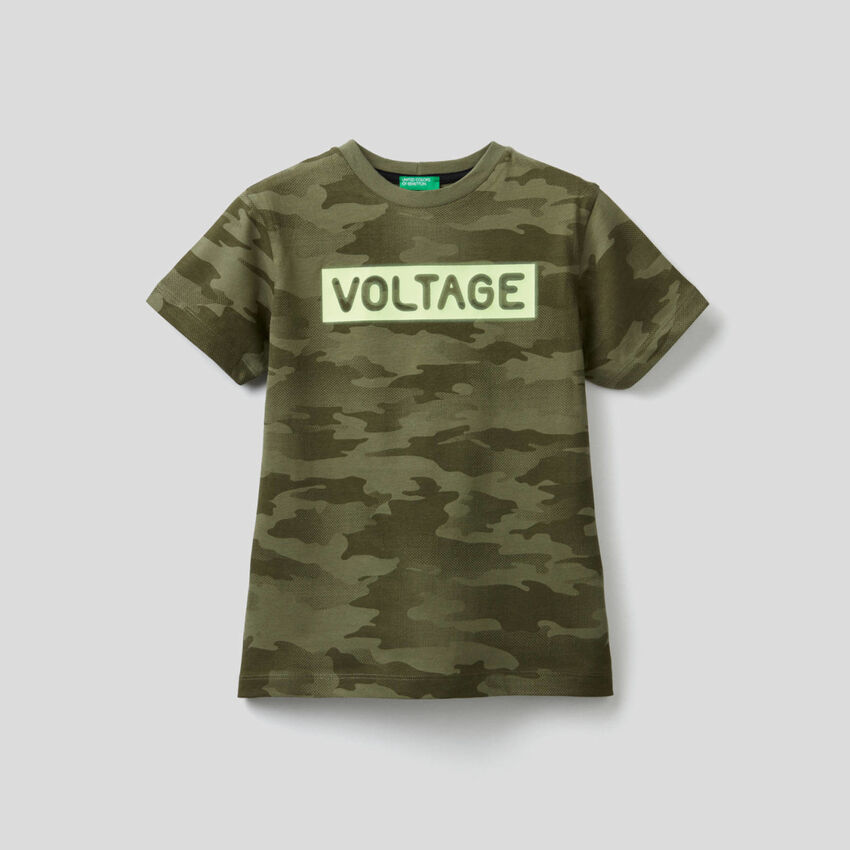 Pure cotton printed t-shirt