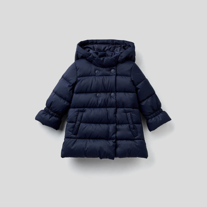 Padded double-breasted jacket