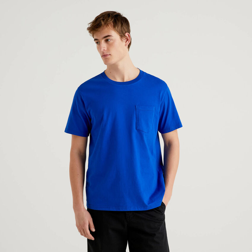 100% cotton t-shirt with pocket